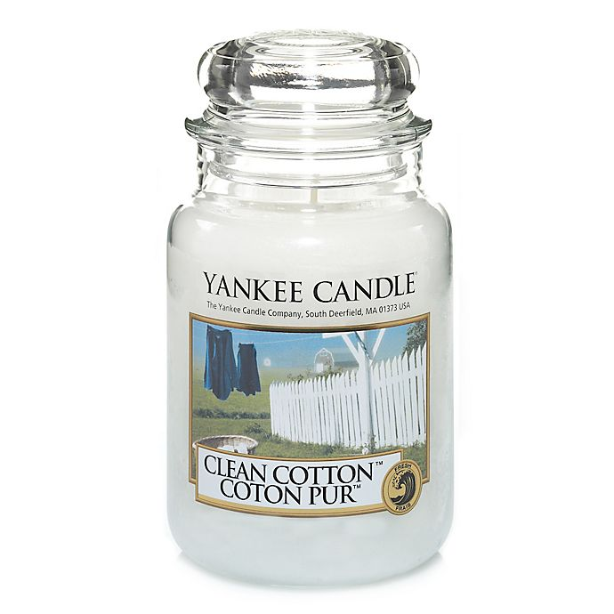 Alternate image 1 for Yankee Candle® Clean Cotton™ Large Classic Jar Candle