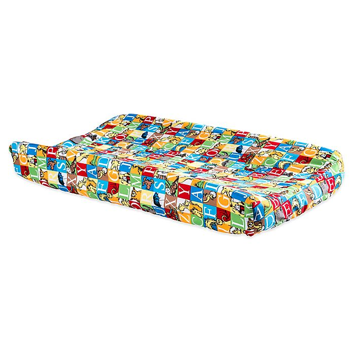 Alternate image 1 for Dr. Seuss™ by Trend Lab® Alphabet Seuss Changing Pad Cover