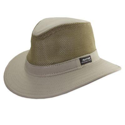 Panama Jack 174 Mesh Safari Hat In Khaki Bed Bath And