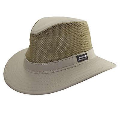 Panama Jack® Mesh Safari Hat in Khaki