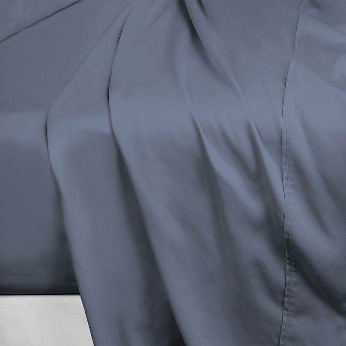 Alternate image 1 for 600-Thread-Count Cotton Sateen King Flat Sheet