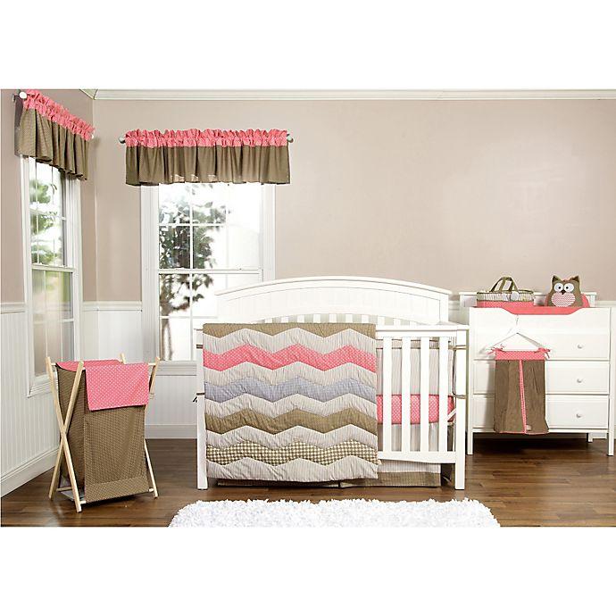 Alternate image 1 for Trend Lab® Cocoa Coral 3-Piece Crib Bedding Set