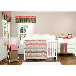Trend Lab® Cocoa Coral Bedding Collection