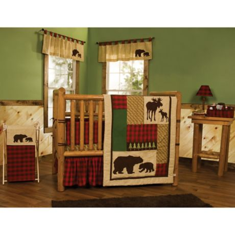 Trend Lab 174 Northwoods Crib Bedding Collection Buybuy Baby