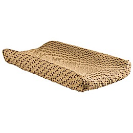 Trend Lab® Northwoods Scatter Print Changing Pad Cover in Tan/Brown