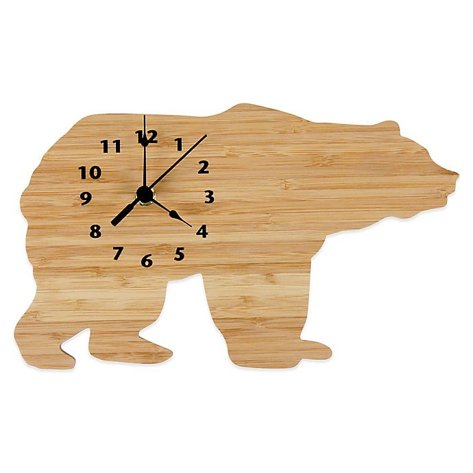 Alternate image 1 for Trend Lab® Northwoods Bear Wall Clock