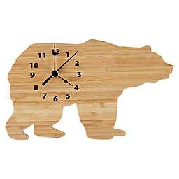 Trend Lab Northwoods Bear Wall Clock