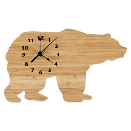 Trend Lab 174 Northwoods Bear Wall Clock Bed Bath Amp Beyond