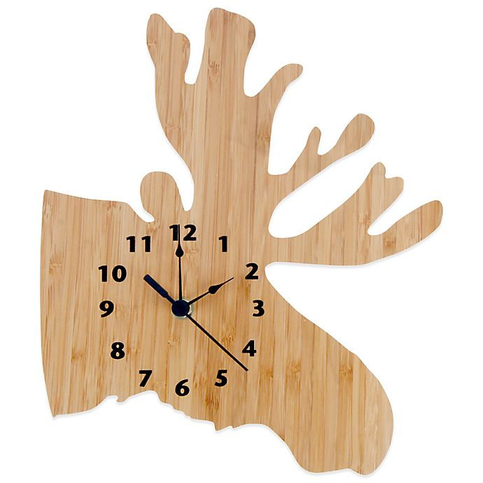 Alternate image 1 for Trend Lab® Northwoods Moose Wall Clock
