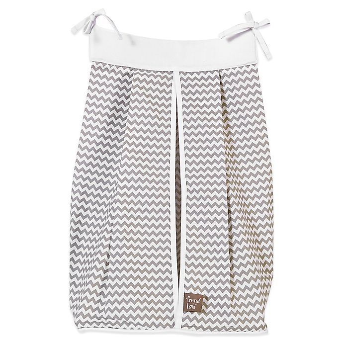 Alternate image 1 for Trend Lab® Ombre Grey Diaper Stacker