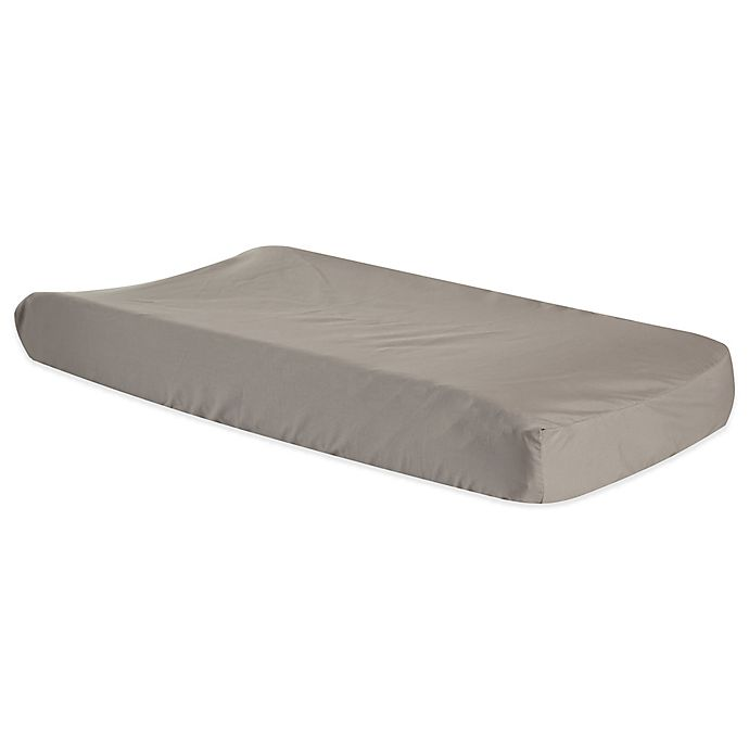Alternate image 1 for Trend Lab® Ombre Grey Neutral Changing Pad Cover