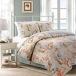 Oceanside Cottage Reversible Quilt Set