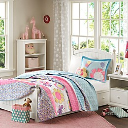 Mizone Kids Crazy Daisy Coverlet Set