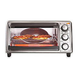 Black & Decker™ 4-Slice Toaster Oven in Grey