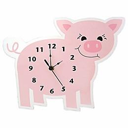 Trend Lab® Baby Barnyard Piglet Wall Clock