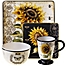 Part of the Certified International French Sunflower Dinnerware Collection