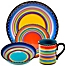 Part of the Certified International Tequila Sunrise Dinnerware Collection