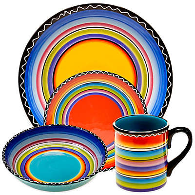 Certified International Tequila Sunrise Dinnerware Collection