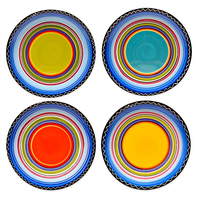 Alternate image 1 for Certified International Tequila Sunrise Dinner Plates (Set of 4)