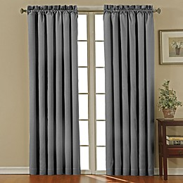 Eclipse Canova Rod Pocket -Inch Room Darkening Window Curtain Panel