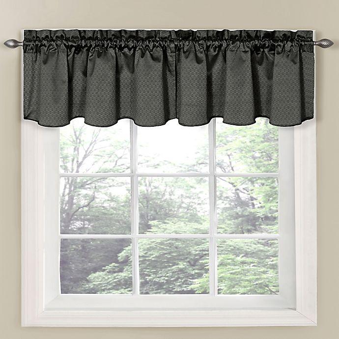 Alternate image 1 for Eclipse Carmen Room Darkening Window Curtain Valance