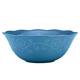Lenox® French Perle™ Serving Bowl in Marine Blue