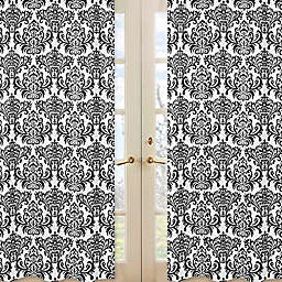 Sweet Jojo Designs Isabella Window Curtain Panel Set in Damask