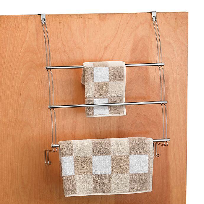 Alternate image 1 for Better Bath® Chrome Over-the-Door Towel Bars