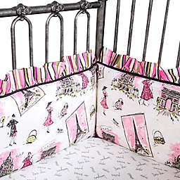 Waverly® Baby by Trend Lab® Tres Chic 4-Piece Crib Bumper Set
