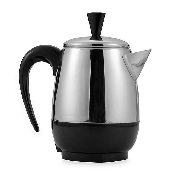 Alternate image 1 for Farberware 2-4 Cup* Stainless Steel Electric Percolator