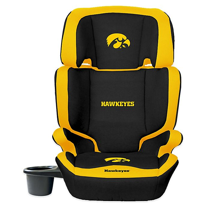 Alternate image 1 for Lil Fan University of Iowa High Back Booster Seat