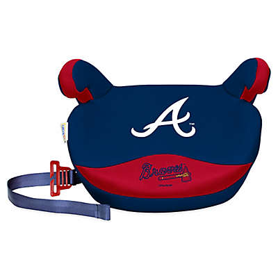 Lil Fan MLB Atlanta Braves No Back Slimline Booster Seat