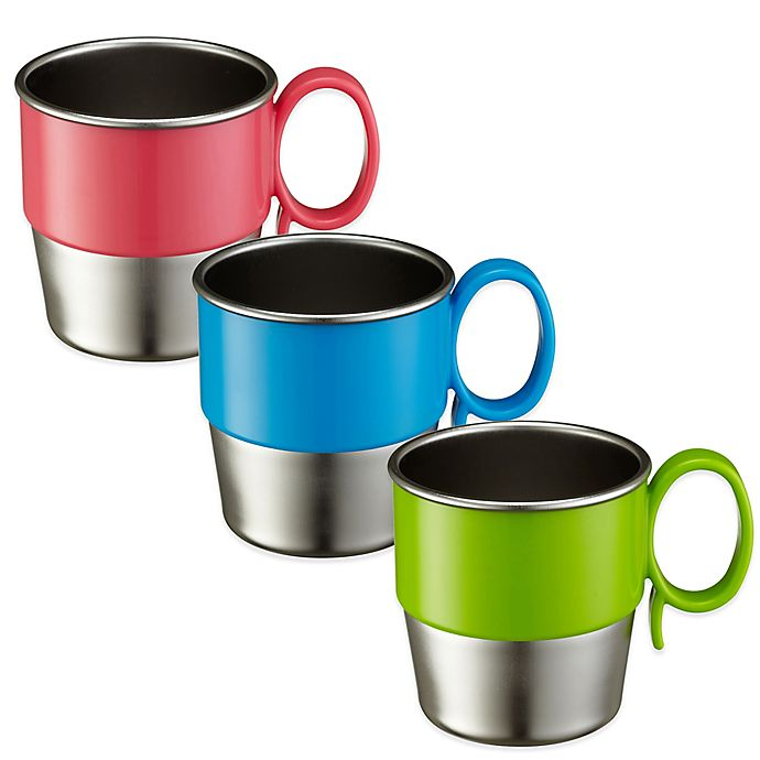 Alternate image 1 for Innobaby Din Din SMART™ 9 oz. Stainless Steel Cup