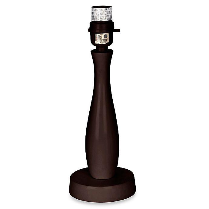 Alternate image 1 for Sweet Jojo Designs Universal Decorative Lamp Base in Brown