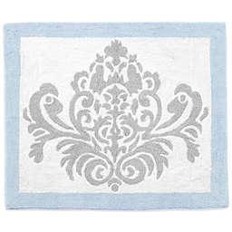 Sweet Jojo Designs Avery Rug in Blue and Grey