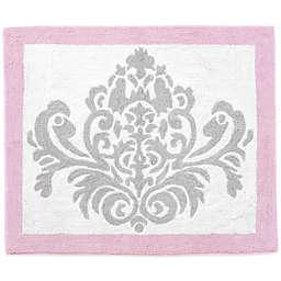 Sweet Jojo Designs Elizabeth Rug in Pink/Grey