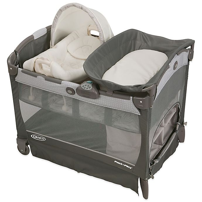 Alternate image 1 for Graco® Pack 'n Play® Playard with Cuddle Cove™ Removable Seat in Glacier™