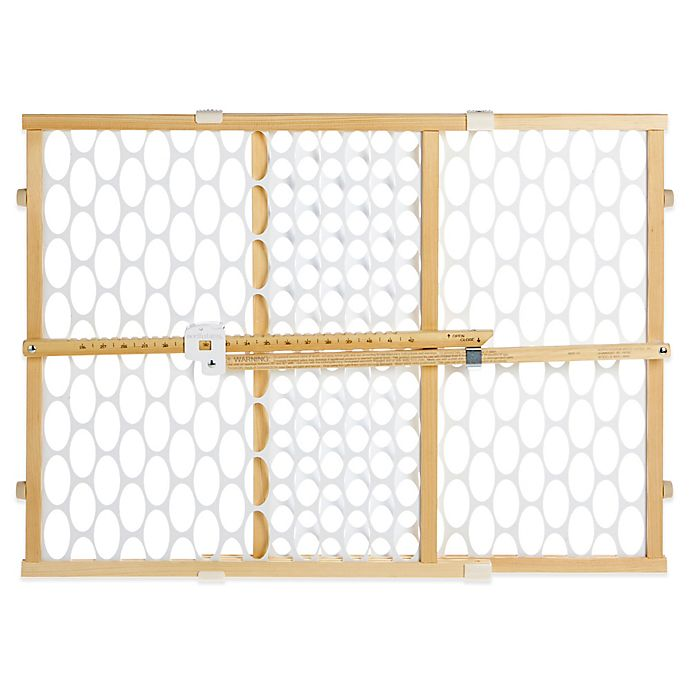 Alternate image 1 for Toddleroo by North States® Quick-Fit® Oval Mesh Gate