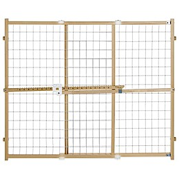 Toddleroo by North States® Quick-Fit® Wire Mesh Gate