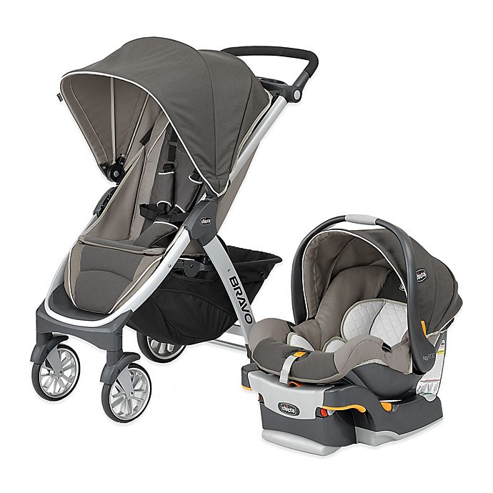 Alternate image 1 for Chicco® Bravo® Trio Travel System in Papyrus™