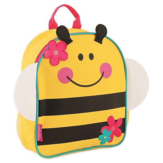 Alternate image 1 for Stephen Joseph® Bumblebee Mini Sidekick Backpack in Yellow/Pink