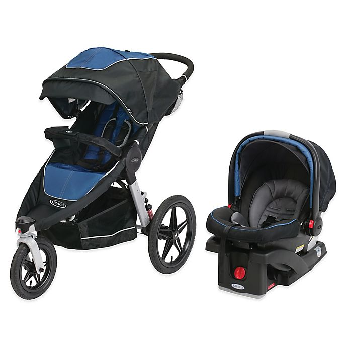 Graco Relay Performance Jogger Travel System In Jaguar Bed Bath Beyond