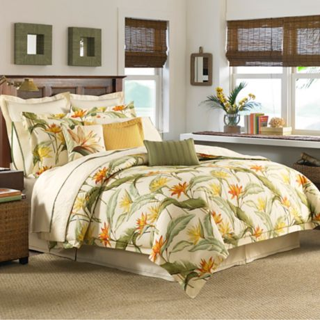 Tommy Bahama 174 Birds Of Paradise Duvet Cover Set Bed Bath