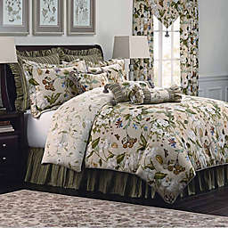 Williamsburg Garden Images Comforter Set in Parchment