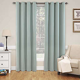 SolarShield® Naomi 95-Inch Blackout Window Curtain Panel in Blue