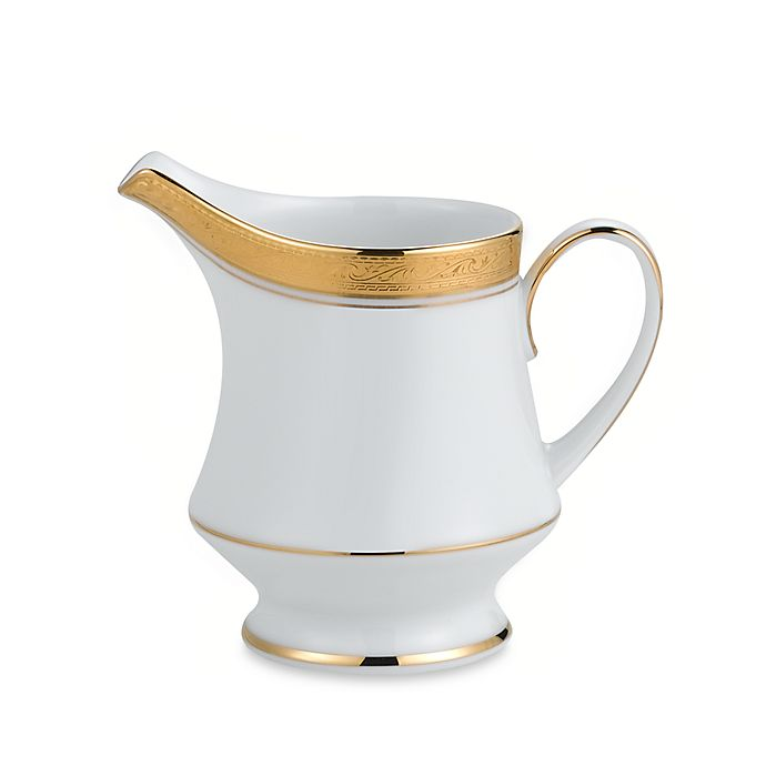 Alternate image 1 for Noritake® Crestwood Gold Creamer