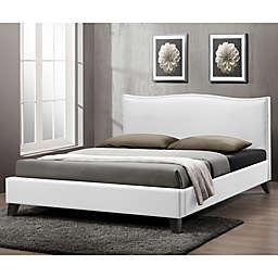 Battersby Designer Bed with Upholstered Headboard