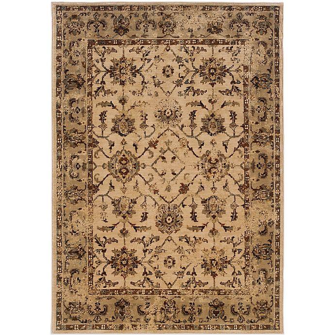 Alternate image 1 for Oriental Weavers Casablanca Rug in Beige