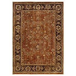 Oriental Weavers Casablanca Floral Border Rug in Red