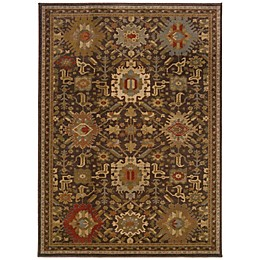 Oriental Weavers Casablanca Rug in Brown